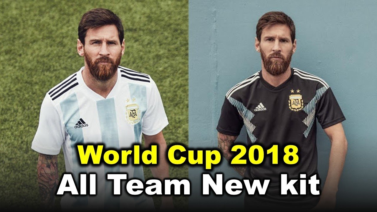 World Cup 2018 All Team Home   Away Kit . - YouTube ea6d4d45f