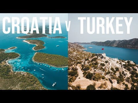 Which sailing trip should you book? Go Sail Turkey or Go Croatia Sail?