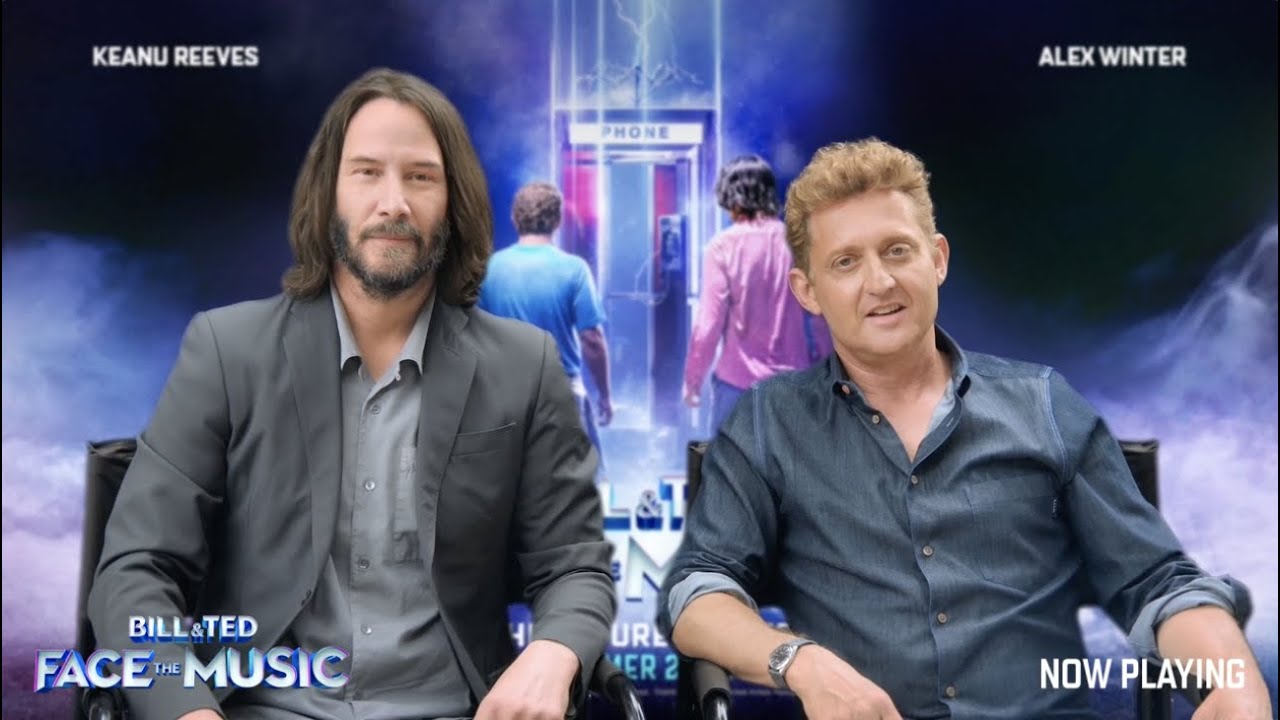 Party on, dudes! Bill & Ted Face the Music is now available for ...