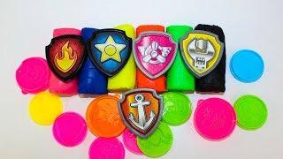 Щенячий патруль Мультики для детей Учим цвета Плей До Игрушки Видео для детей Learn colors Play Doh