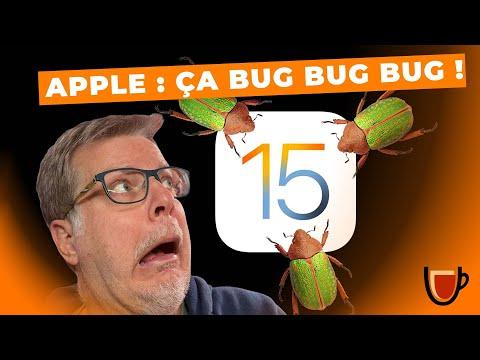 iOS 15 : Des BUGS problématiques !