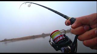 Рыбалка на спиннинг с берега Спиннинг в начале ноября 2020
