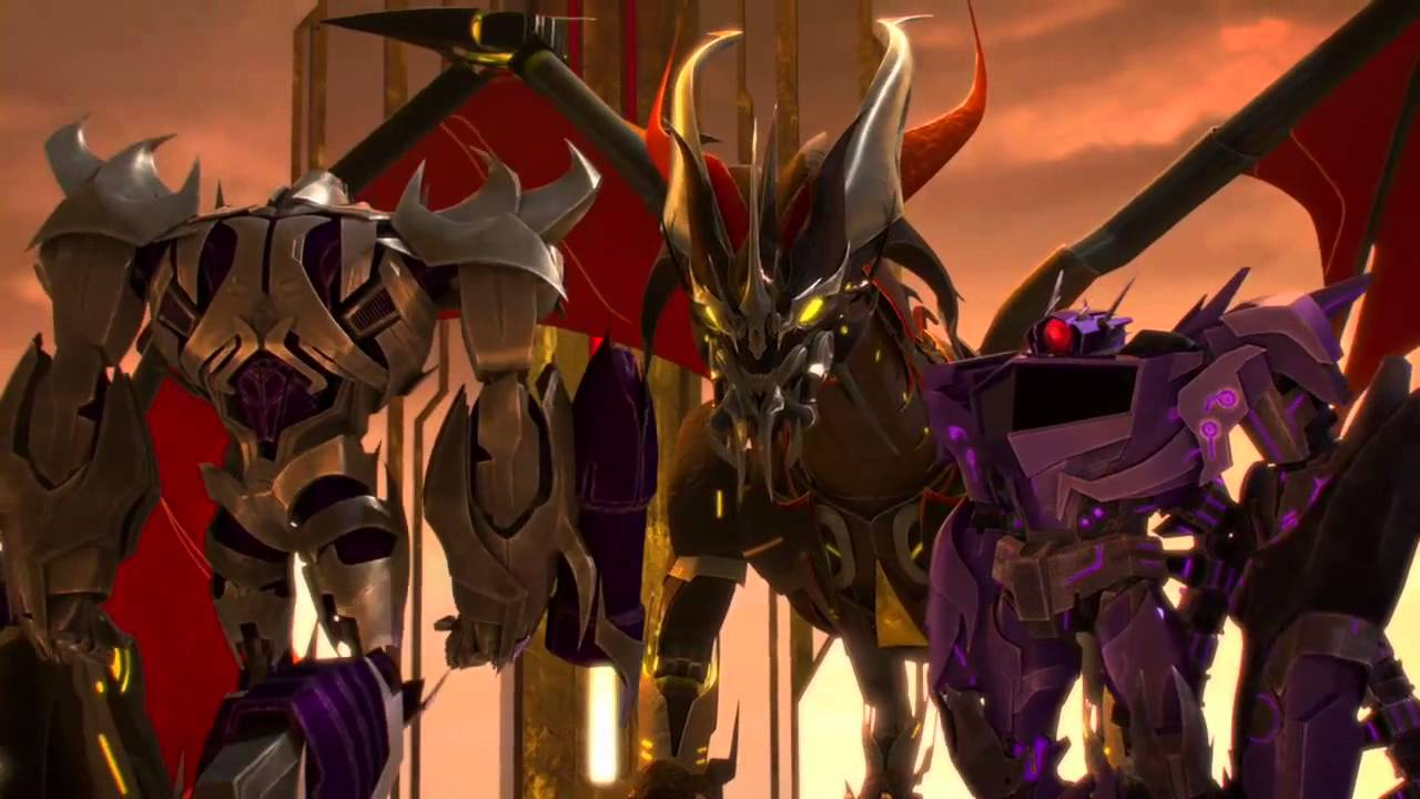 transformers prime meet predaking third