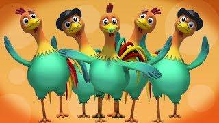 петухи палец семья | Песни для детей | Дети стихи | Rooster Finger Family | Baby Nursery Rhymes