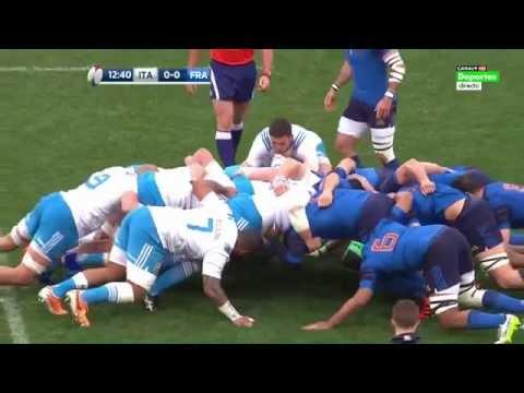 Italie v France 15/03/15 RBS 6 Nations