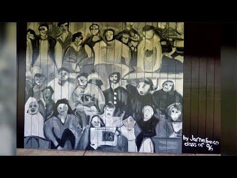Palo Alto High School Paints Over Murals by James Franco