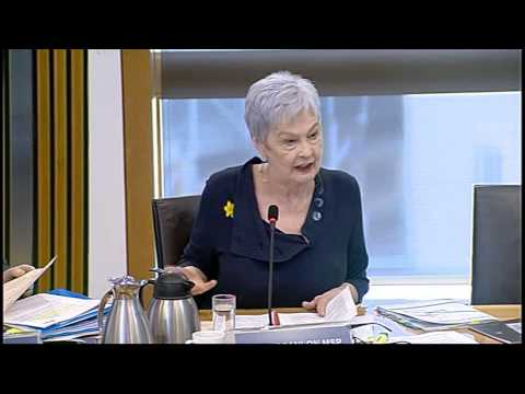 Education and Culture Committee - Scottish Parliament: 10th March 2015