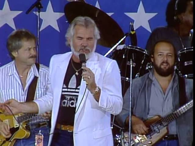 Kenny Rogers Reuben James Live At Farm Aid 1985 Youtube