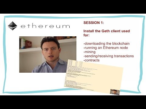 1 How To Install Geth Client On (Mac) - Ethereum From Scratch