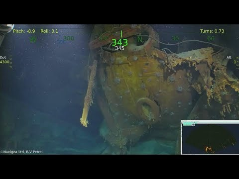 Wreck of the Juneau Is Found, 76 Years After 5 Brothers Perished