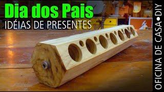 Dia dos Pais - Idéias para Presentes #DIY #oficinadecasa