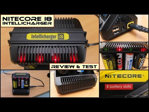 Nitecore I8 Intellicharger 8 Slot Charger: Review