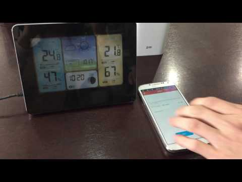Wi-Fi Smart Weather Station quick set up guide - for Android devices