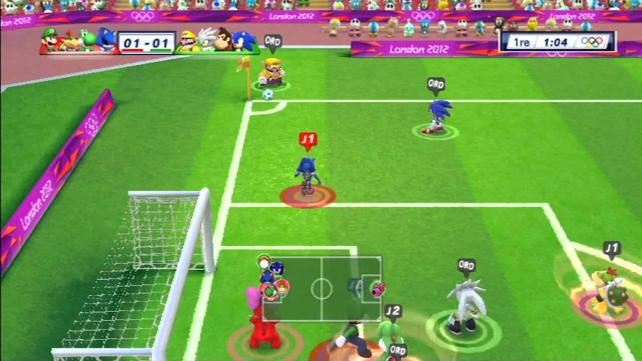 Mario Et Sonic Aux Jeux Olympiques De Londres 2012
