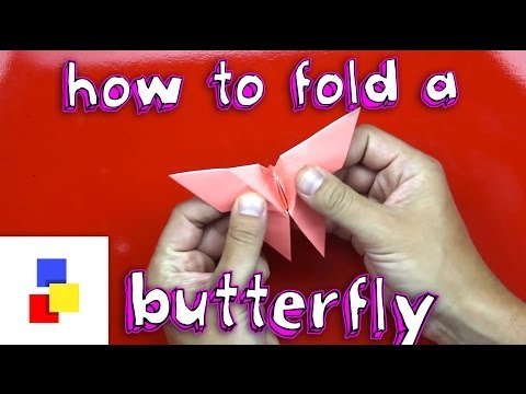 How To Fold A Butterfly
