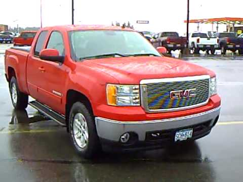 2008 gmc sierra 1500 slt ext cab z71 off road youtube. Black Bedroom Furniture Sets. Home Design Ideas