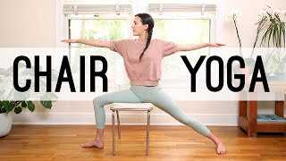 Chair Yoga - Yoga For Seniors | Yoga With Adriene