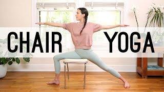 Chair Yoga - Yoga For Seniors | Yoga With Adriene