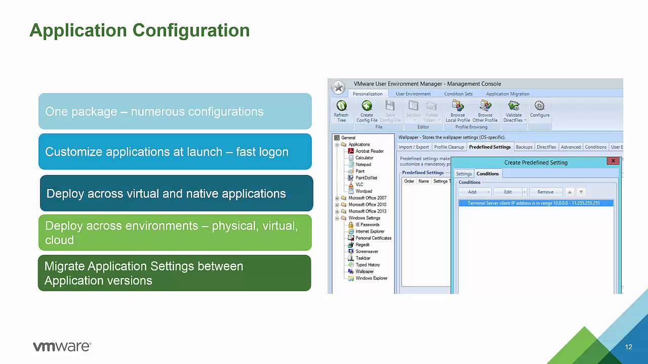 VMware User Environment Manager - Technical Overview