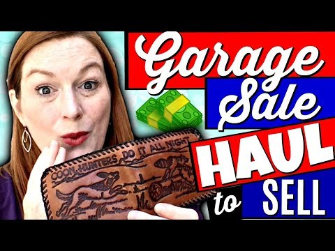Garage Sale Haul 2018 - Jewelry & Vintage Treasures to Sell on Ebay & Etsy