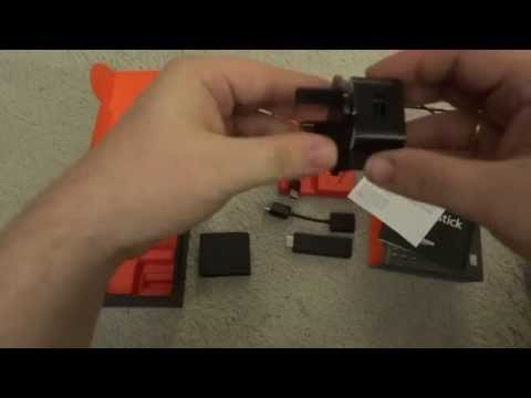 Amazon Fire TV Stick Unpacking, Review and Problems