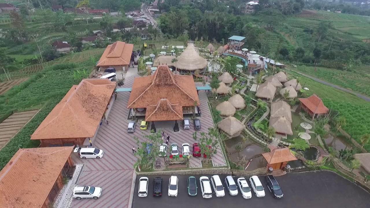 Bali Ndeso Resto Karangpandan Dari Udara Youtube
