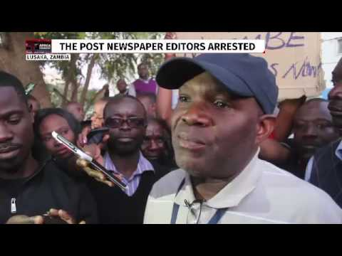 The Post newspaper editors arrested