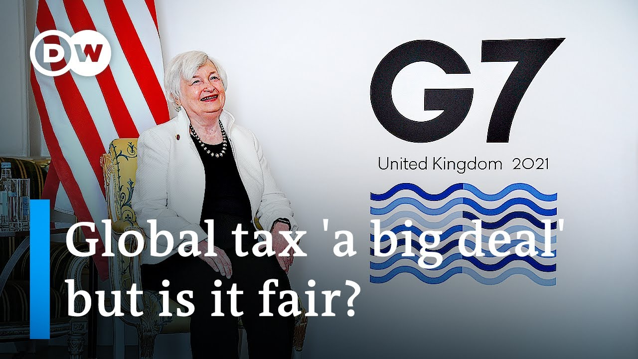 Download G7 countries reach deal on global corporate tax   DW News