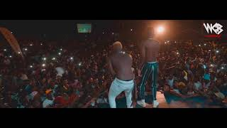 Diamond Platnumz - Perfoming Live Kwangwaru with Harmonize (DAR LIVE PART 2)
