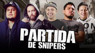 Call Of Duty con LOS NOOBS (Partida de Snipers)