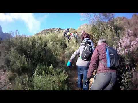 Caminata a Montserrat del C.C. Mollet Junior 2012