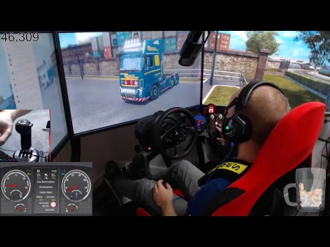 Euro Truck Simulator 2 day 6 career mode