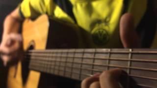 [Nhạc Thiếu nhi] Bông hồng tặng cô - guitar cover