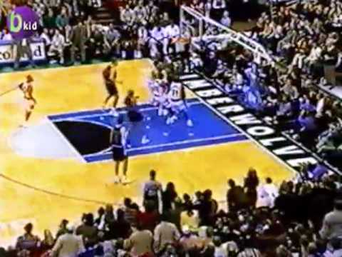 Garnett/Marbury T'Wolves take on Jordan and The Bulls 1998