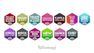 GRAPHIC DESIGN: Deluxe Music Radio-Logos