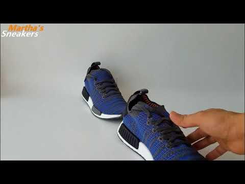 san francisco 05d36 a770e Martha's Sneakers Review Newest products: UA NMD R1 STLT PK Blue Black