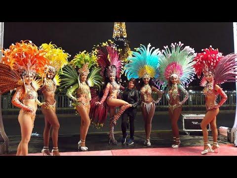 Clip Danseuses Brésiliennes Paris