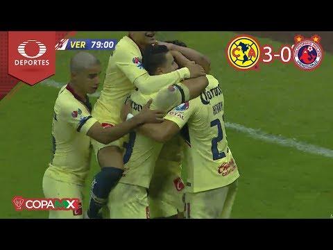 ¡Los de Coapa golean! | América 3 - 0 Veracruz | Copa Mx J-2 | Televisa Deportes