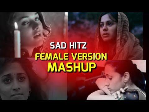 Tamil Sad Songs Female Version 💔  MASHUP
