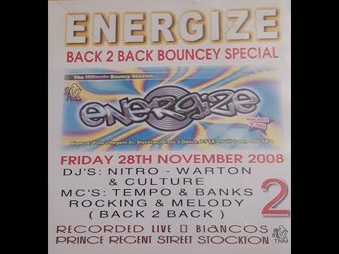 Mc's Tempo B2B Banks & Ace B2B Impulse @ Energize 28.11.2008