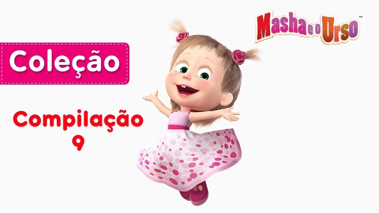 Masha E O Urso Compilacao 9 Desenho Animado Compilacao De