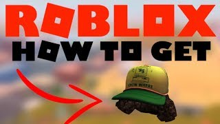 [PROMOCODE] How to get DUSTIN'S CAMP KNOW WHERE CAP - Roblox