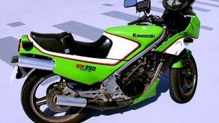 タンデムツイン・Kawasaki KR250