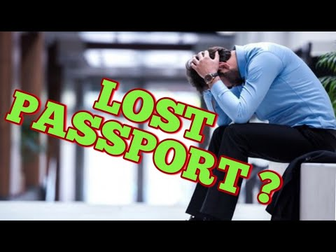 IMPORTANT VIDEO FOR LOST PASSPORTS AND OVERSTAY PEOPLE !!!
