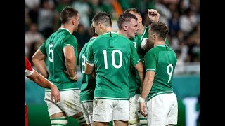 OTB Rugby World Cup Show Ireland secure bonus point win over Russia LIVE