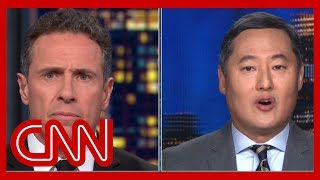 Chris Cuomo to John Yoo: How is that espionage?