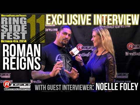 ROMAN REIGNS - RINGSIDE FEST 2014! Special Guest Interviewer - Noelle Foley!