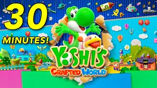 Yoshi's Crafted World: 30 Minutes Of Gameplay