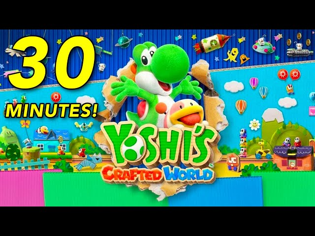 Yoshi's Crafted World (видео)