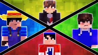 Minecraft: MEUS AMIGOS CONTRA TODOS  ‹ JUAUM ›